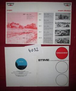 N°4032 / catalogues STIME terrassement  ....1970 ?