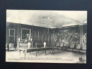 Carte-Postale-Ancienne-BEAUNE-de-1913-Hotel-Dieu-Salle-du-Conseil