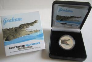 Australia-1-dolares-2014-Saltwater-crocodiles-Graham-1-Oz-plata-pp