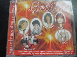 God-Jul-various-CD-1994-Sissel-kyrkjebo-Hanne-Krogh-Wenche-Myhre