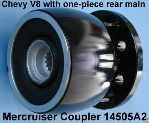 CONVERSION COUPLER MERCRUISER CHEVY V8 INSTALL NEW ENGINE IN OLD BOAT 14505A2