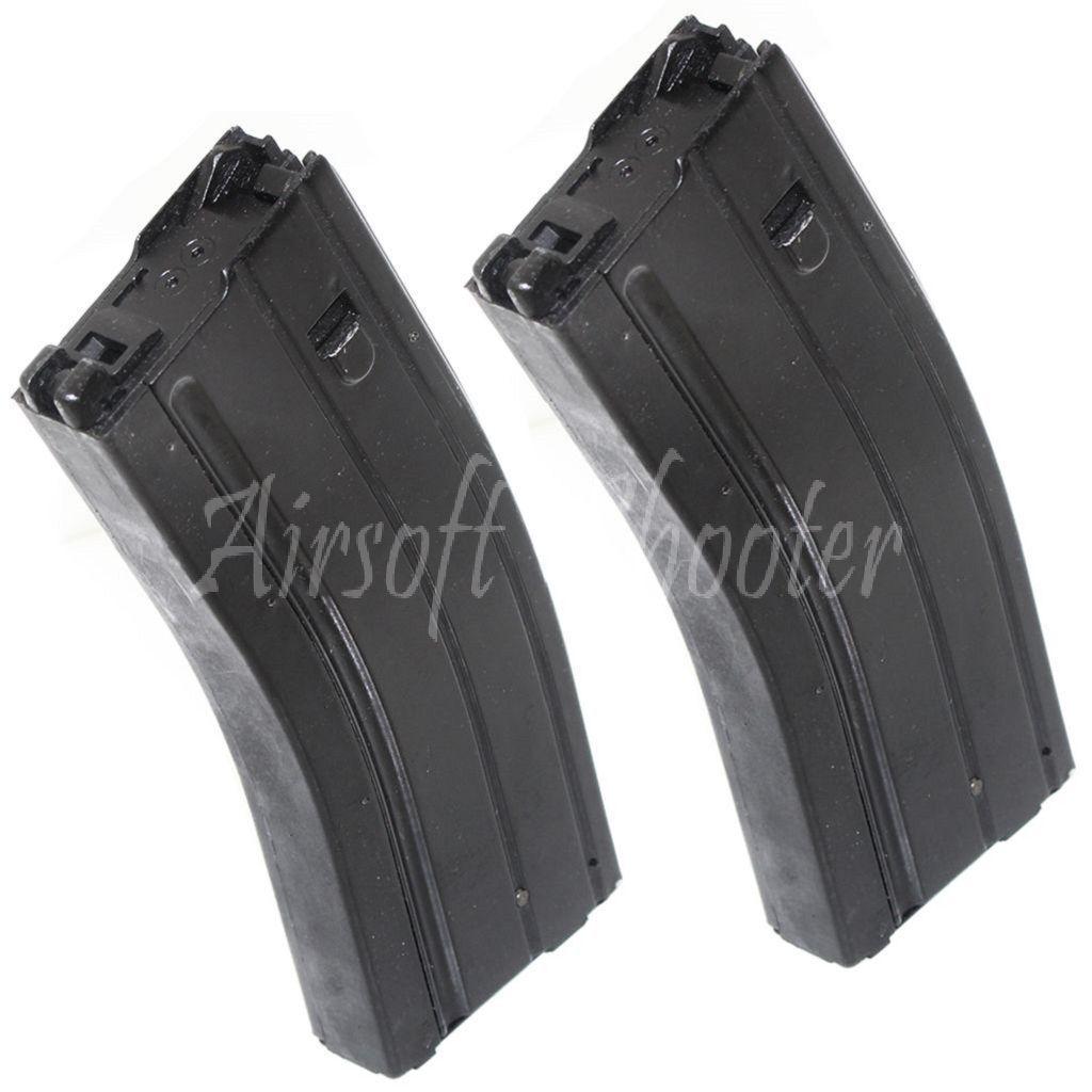 Airmjuk Gear 2pcs 50rd Mag Gas Magazine for JG WA G &P M -serien GBB Rifle