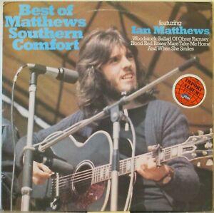 MATTHEWS SOUTHERN COMFORT Best Of LP 1970s U.K. Folk-Rock on MCA (U.K., 1974)