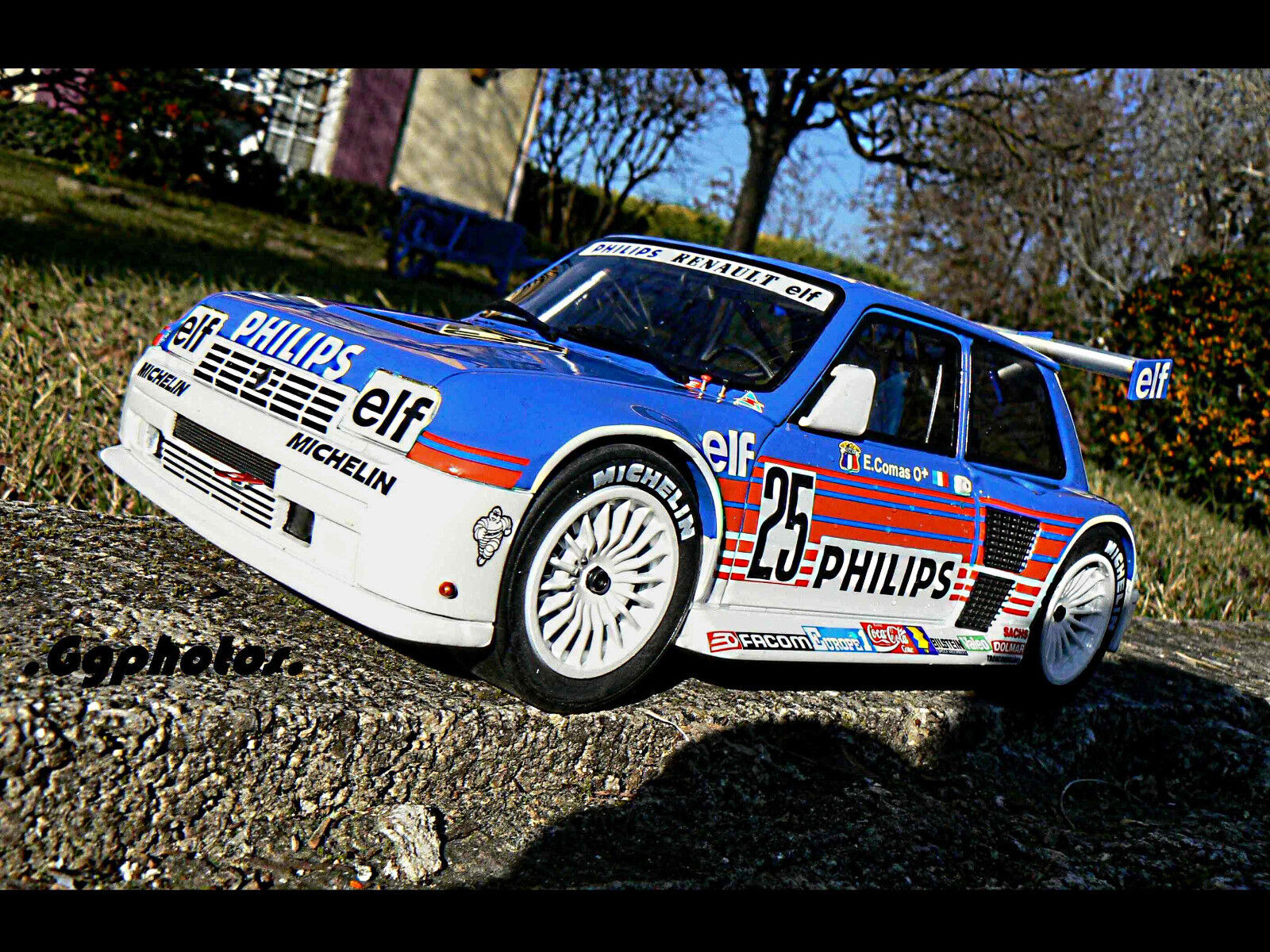 Renault 5 r5 superproduction comas 1/18 otto ottomobile ottomodels boxed