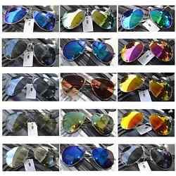 Neu! Pilotenbrille Pornobrille Fliegerbrille Sonnenbrille Brille Verspiegelt