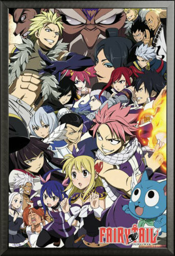 61x91,5 cm Fairy Tail-season 6 Key Art Manga Anime Series-POSTER