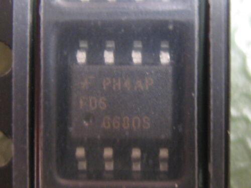 SO-8 SMD-MOSFET N-Ch 30V 11.5A 10 Stück Fairchild FDS6680S 11mΩ//10V