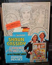 1978 Hardy Boys Cassidy Stevenson Vintage Art Poster Pen set Craft House Master