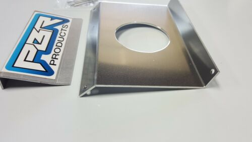 """Polaris RZR In-Dash Stereo Panel Blank Panel with 3/"""" round hole mill finish"""