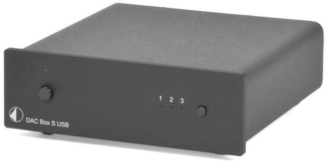 PRO-JECT DAC BOX S USB CONVERTITORE D/A PRODOTTO NUOVO GARANZIA ITALIA