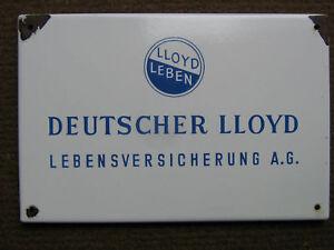 hot sale pre order outlet boutique Details zu DEUTSCHER LLOYD LEBENSVERSICHERUNG