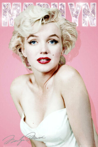 Marilyn Monroe Diamond Poster 24x36