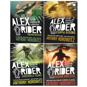 Alex-Rider-Series-7-10-Books-Collection-Set-By-Anthony-Horowitz-Snakehead-New