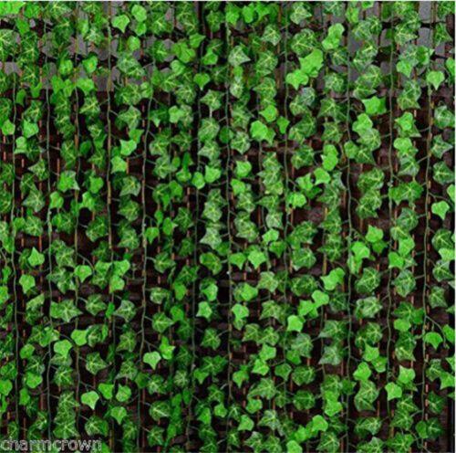 2.4m Efeu Künstliche Girlande Efeubusch Efeugirlande Efeuranke Kunstpflanze DIY