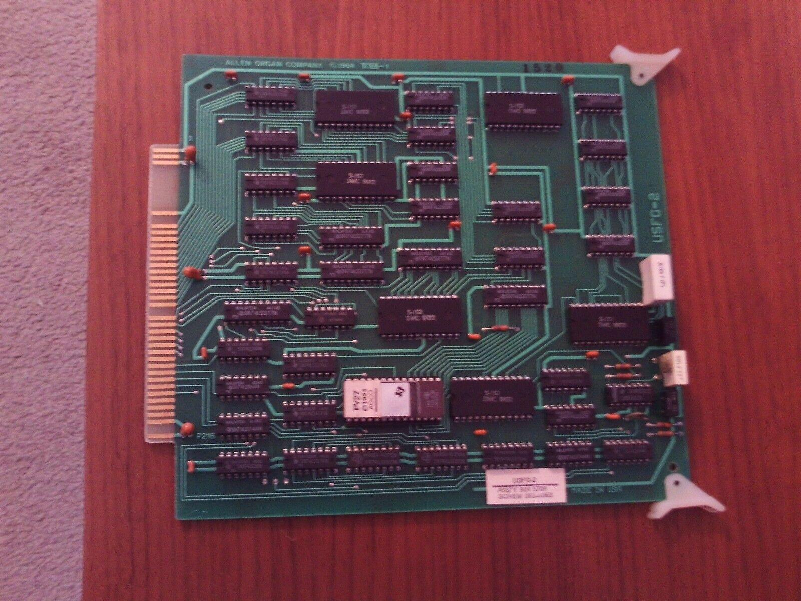 Allen Organ ADC Serie FG2 Board (MADC Cage Board)