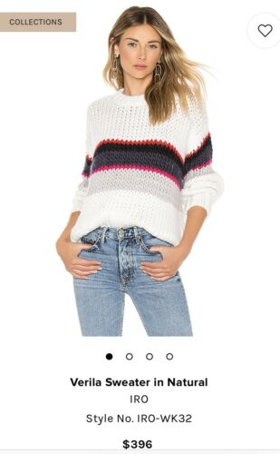 Hvid Verila Sweater Iro Sz Sm Naturlig gFqwXdp