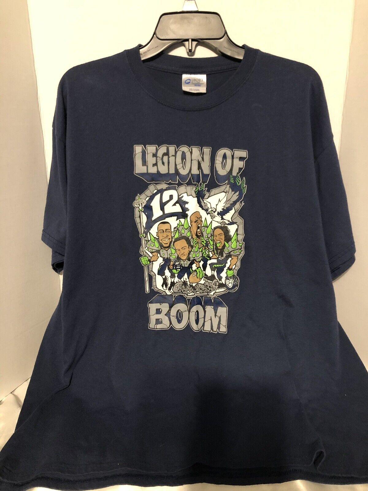 Seattle Seahawks (RARE) Legion Of Boom Shirt Men's XL (Original Members)