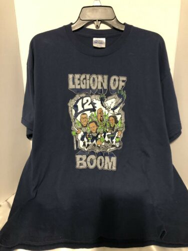 Seattle Seahawks (RARE) Legion Of Boom Shirt Men's