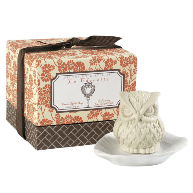 Gianna Rose Atelier EULEN SEIFE & SEIFENSCHALE - Gianna Rose Soap LA CHOUETTE