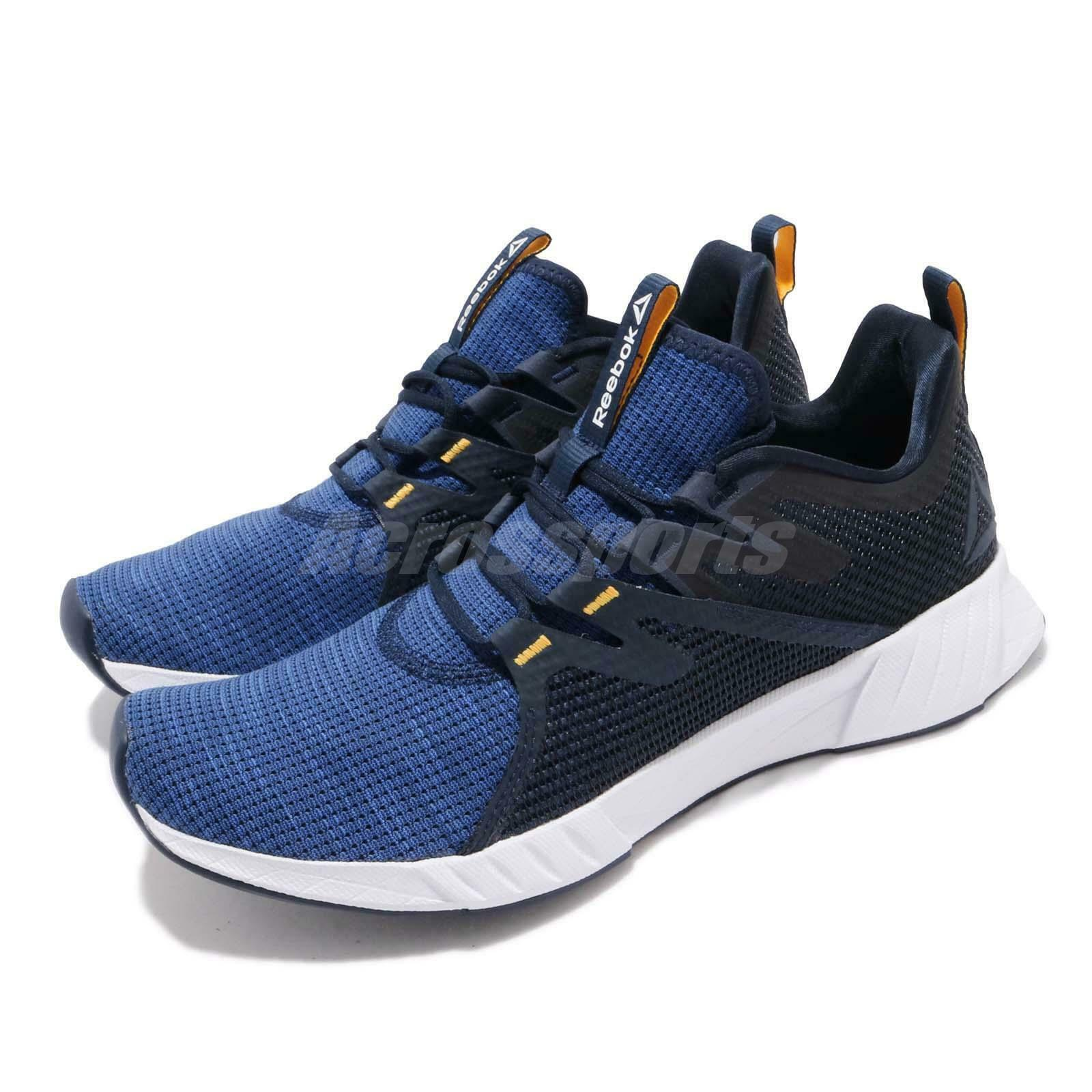 Reebok Fusium Run 2 Navy Coablt blueee White Men Running Casual shoes CN6385