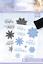 Crafters Companion brillante Copo de Nieve Sara Davies firma Navidad Collecti
