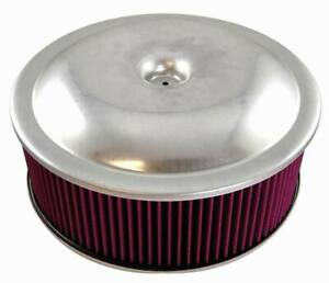 14-034-X-3-034-Spun-Aluminum-Air-Cleaner-Kit-with-Washable-Element-and-Offset-Base