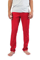 Skinny Red Jeans Made In Usa Men Classic Stretch Low Rise Solo 26-38