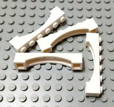 LEGO Red Brick Arch 1 x6  Lot of 4