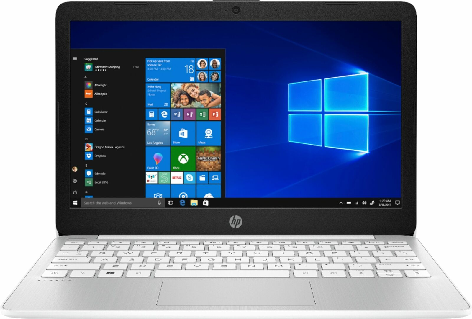 "HP - Stream 11.6"" Laptop - Intel Celeron - 4GB Memory - 64GB eMMC Flash Memor..."