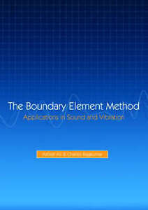 Boundary-Element-Method-Application-In-Sound-And-Vibration-Hardcover-by-Al