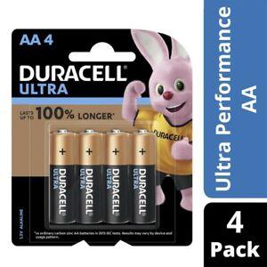 Duracell Ultra Alkaline AA Batteries 4pk