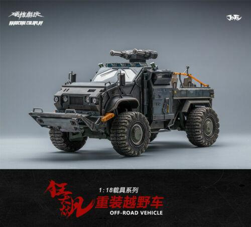 JOYTOY 1 18th Modelo de Coche SUV Loco ReCochega F soldado militar figura Juguetes collecte