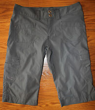 Arc'teryx Women's Rampart Long Hiking Gray Shorts Size 6