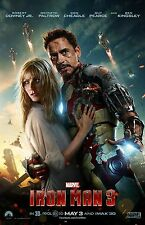 Iron Man 3 movie poster print  : 11 x 17 inches : (style e) : Robert Downey Jr