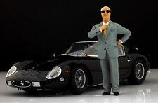 Enzo Ferrari Figur für 1:18 Kyosho F40 250GTO Testarossa MR VERY RARE!