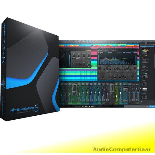 PreSonus Studio Eine 5 Professionell Upgrade Von Künstler 1-5 Software Daw Neu