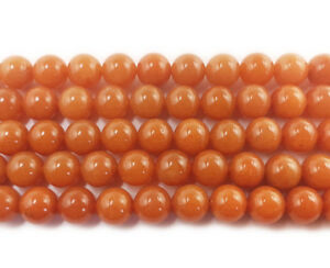 16-034-Strand-Semi-Precious-Gemstone-Red-Aventurine-Round-Beads-8mm-UK-EBAYER