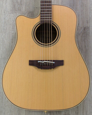 Musical Instruments & Gear Natural Demand Exceeding Supply Takamine P3dc Left-handed Dreadnought Acoustic-electric Guitar