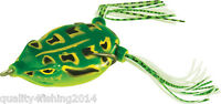 Artificial Bait Dancer Frog Live Tail Action By Rapture