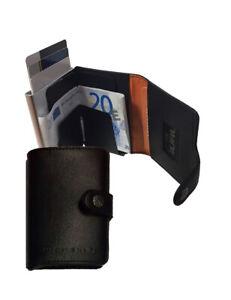 GURU-Portafoglio-carte-di-credito-protezione-RFID-NFC-in-Pelle-vari-colori