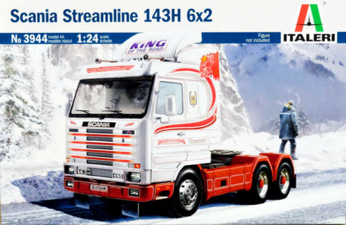 Scania Streamline 143H 6x2 Truck LKW 1:24 Model Kit Bausatz Italeri 3944