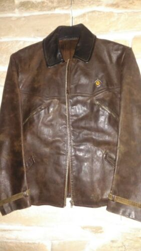 1930s Champion  motorcycle leather jacket + origin