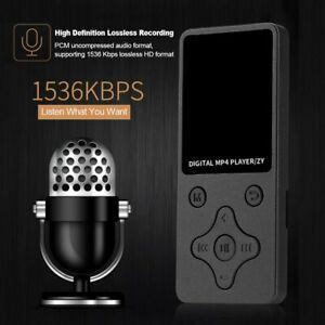 NEU 32GB MP3 Spieler HiFi Bass Musik Player FM Radio LCD Display mit Headset