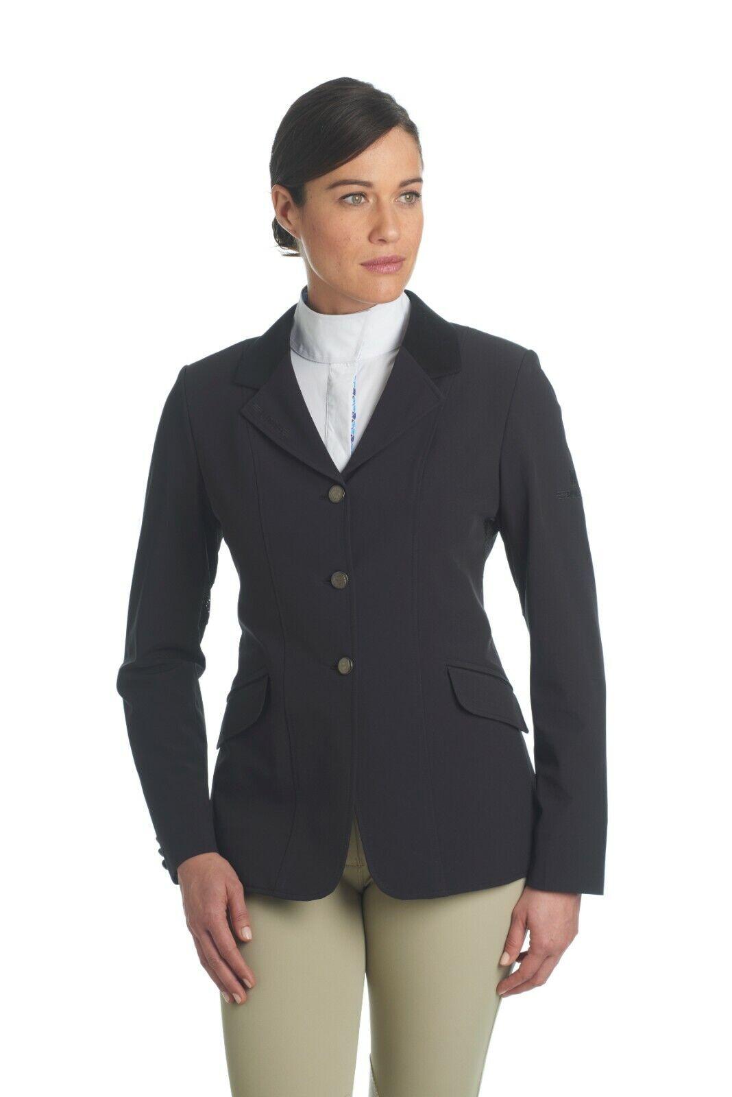Romfh Ladies Pro Lite Horse Show Coat sz 6R Navy NWT