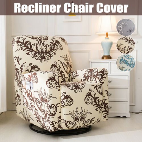 Stretch Washable Recliner Chair Slip Cover Anti-dirty Home Furniture Slipcover