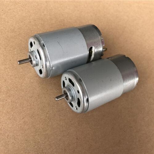 DC 18V 24V 8000RPM RS-555 DC Motor Electric Drill Screwdriver Garden Tools Motor