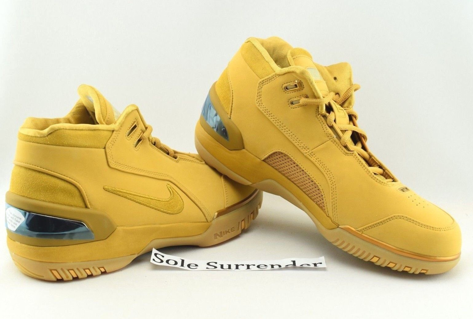 Nike Air Zoom Generation ASG QS -CHOOSE SIZE- AQ0110-700 Wheat Gold AZG All Star