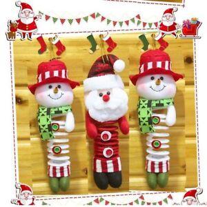 Xmas-Santa-Claus-Snowman-Tree-Ornaments-Decor-Hanging-Pendant-Christmas-Gift
