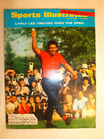 VINTAGE 1968 SPORTS ILLUSTRATED LIVELY LEE TREVINO WINS THE OPEN MAGAZINE **