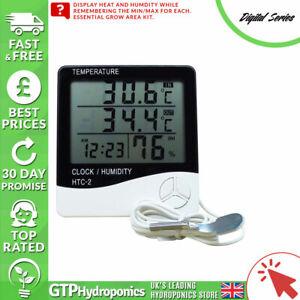 Glorieux Digital Série Thermomètre Numérique & Hygromètre-grow Room Sonde D'humidité-afficher Le Titre D'origine Excellente Qualité